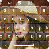 my photo keyboard themes with emojis icon