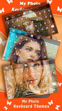 my photo keyboard themes with emojis poster