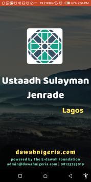 Ustadh Sulayman Jenrade dawahBox poster