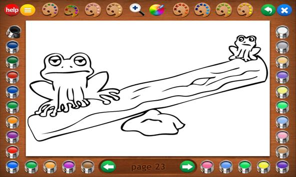 Coloring Book 16 Lite: Silly Scenes screenshot 7