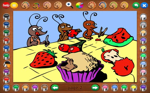 Coloring Book 16 Lite: Silly Scenes screenshot 8