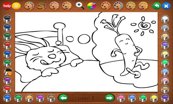 Coloring Book 16 Lite: Silly Scenes screenshot 19