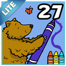Coloring Book 27 Lite: Woodland Animals APK