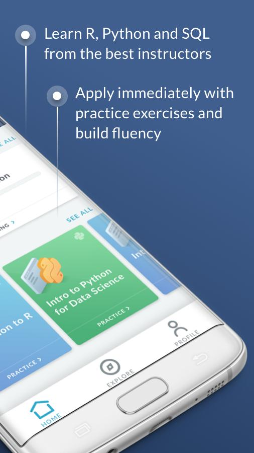 DataCamp - Learn R, Python & SQL coding for Android - APK