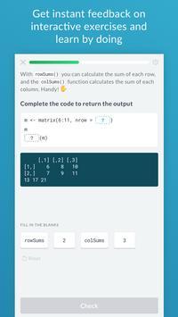 DataCamp - Learn R, Python & SQL スクリーンショット 3