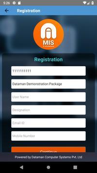 Dataman MIS screenshot 1
