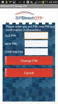 BPDirect OTP screenshot 3