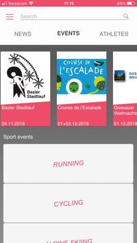 Datasport App screenshot 1
