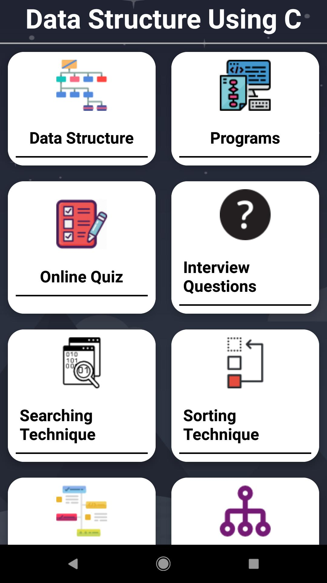 Algorithms and Data Structures for Android - APK Download
