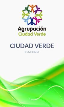 Agrupación Social Ciudad Verde poster