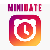 Minidate - brief dating-icoon