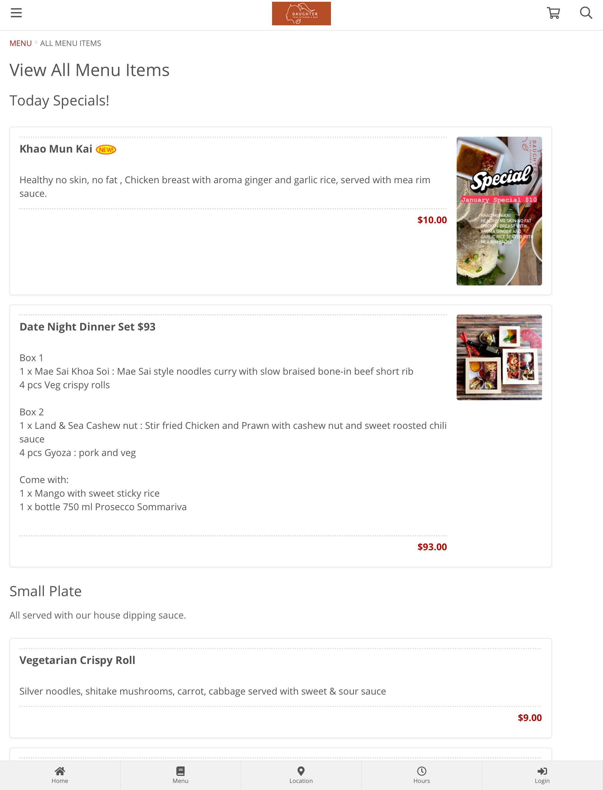 Daughter Thai Kitchen Bar For Android Apk Download