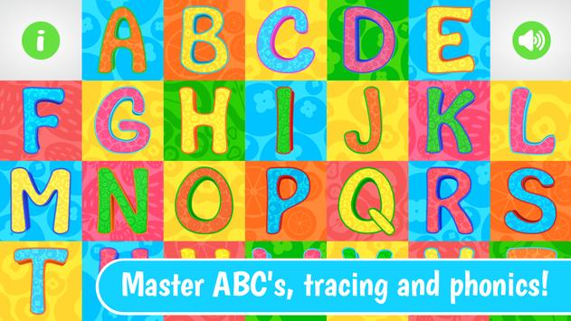 ABC – Phonics and Tracing from Dave and Ava poster