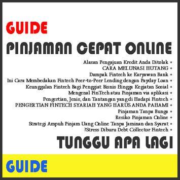 Cara Pinjaman Cepat(Guide) poster