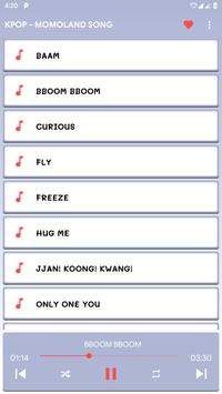KPOP - MOMOLAND Song and Lyrics screenshot 4