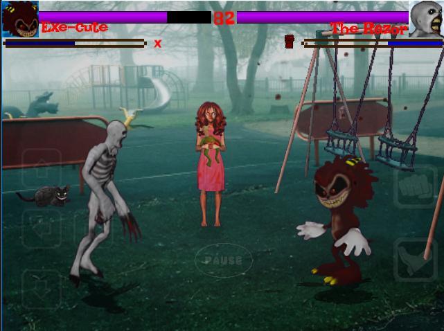 Slenderman VS Jeff killer : Creepypasta Fighters for Android