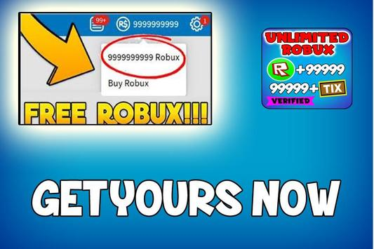 Free Robux Tips - Earn Robux Free Today 2019 poster