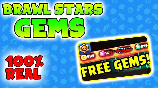 Get Gems For Brawl Stars Now - Gems Free Tips 2019 screenshot 2