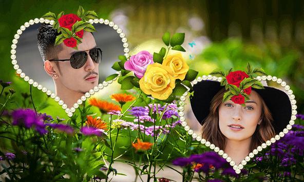 Rose Day 2019 Dual Photo Frame screenshot 1