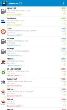 Fuel Consumption Spain screenshot 9