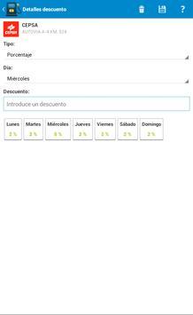 Fuel Consumption Spain screenshot 13