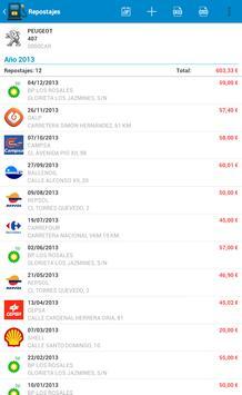 Fuel Consumption Spain screenshot 11