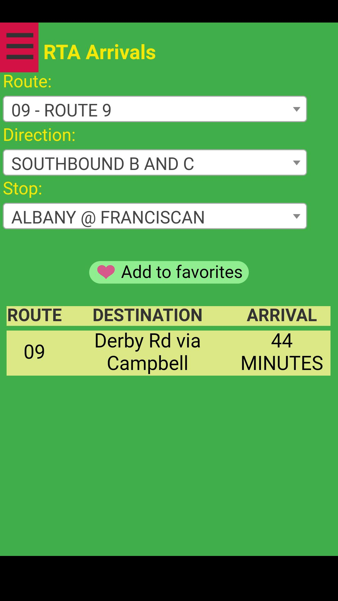 Dayton RTA Bus Tracker for Android - APK Download