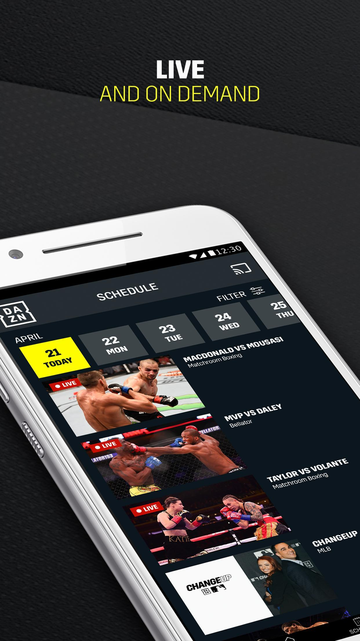 DAZN for Android - APK Download
