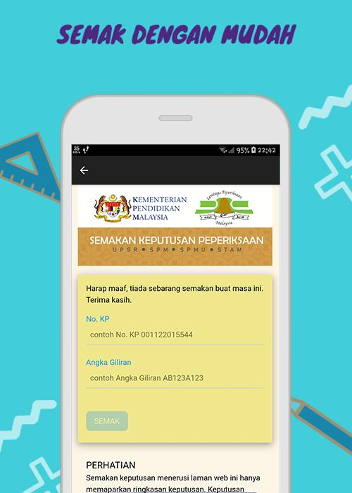 Semak Keputusan Upsr 2019 For Android Apk Download