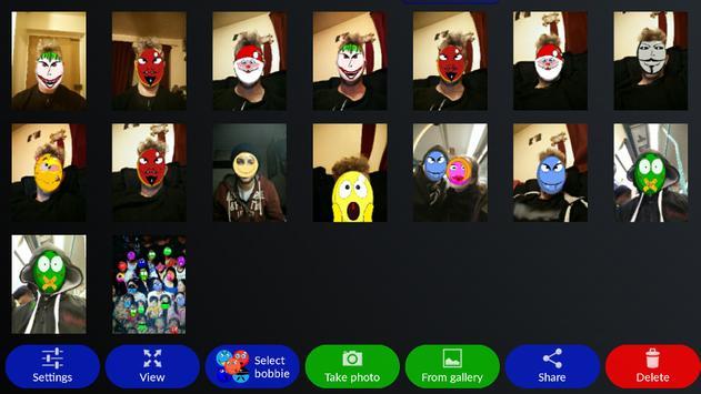 Bobbies Selfie Camera screenshot 7
