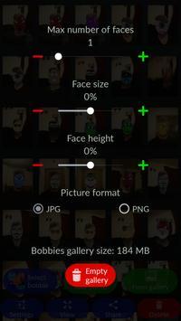 Bobbies Selfie Camera screenshot 1