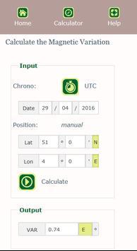 Compass Calculator स्क्रीनशॉट 5