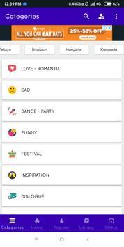 LoveVideos -Romantic Video status Sad Songs Status screenshot 9