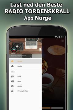 Radio TORDENSKRALL Online Gratis Norge screenshot 10
