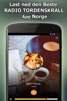 Radio TORDENSKRALL Online Gratis Norge screenshot 1