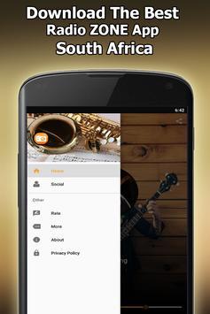 Radio ZONE Online Free South Africa screenshot 6