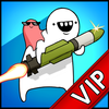 [VIP]Missile Dude RPG: Tap Tap Missile icône