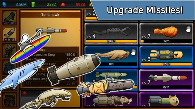 Missile Dude RPG: Tap Tap Missile screenshot 11