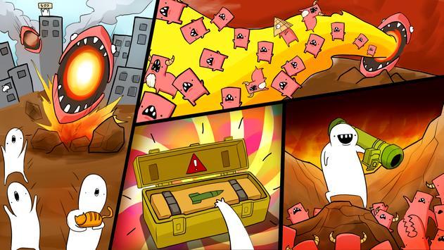 Missile Dude RPG: Tap Tap Missile screenshot 1