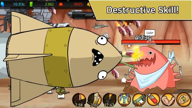 Missile Dude RPG: Tap Tap Missile screenshot 3