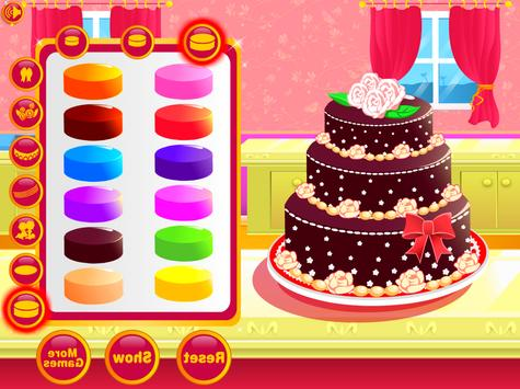 Wedding Cake Decoration - Sweet Cake Maker Games screenshot 5