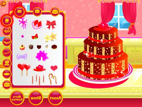 Wedding Cake Decoration - Sweet Cake Maker Games screenshot 7