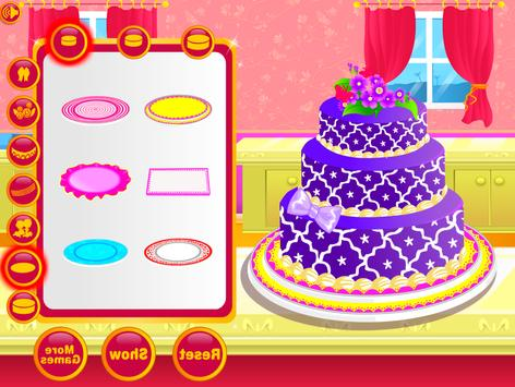 Wedding Cake Decoration - Sweet Cake Maker Games screenshot 8