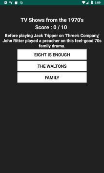 Television Trivia screenshot 6
