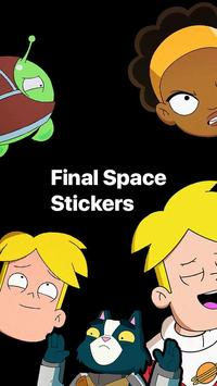 Final Space - WhatsApp Stickers poster