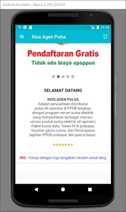 Kios Agen Pulsa Offline For Android Apk Download