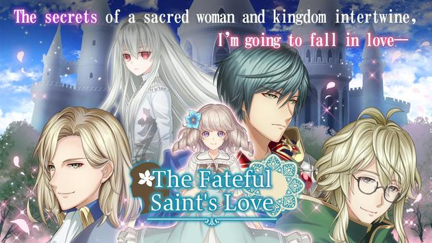 The Fateful Saint's Love  | Dating Sim Otome game poster