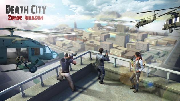 Death City : Zombie Invasion poster