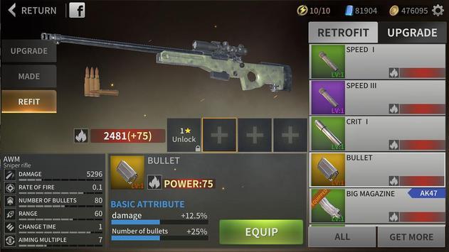 Zombie City : Dead Zombie Survival Shooting Games screenshot 14