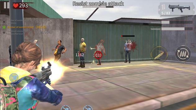 Zombie City : Dead Zombie Survival Shooting Games screenshot 10